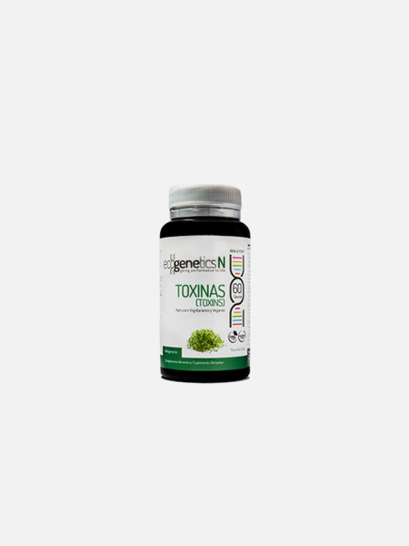 Toxinas - 60 cápsulas - EcoGenetics