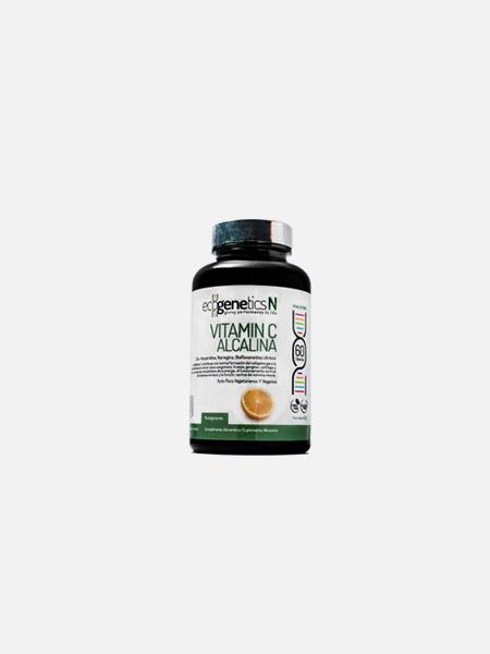 Vitamina C Alcalina - 60 cápsulas - EcoGenetics
