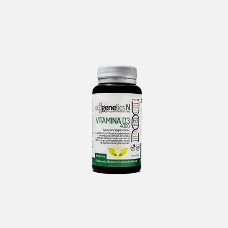 Vitamina D3 4000 – 60 cápsulas – EcoGenetics