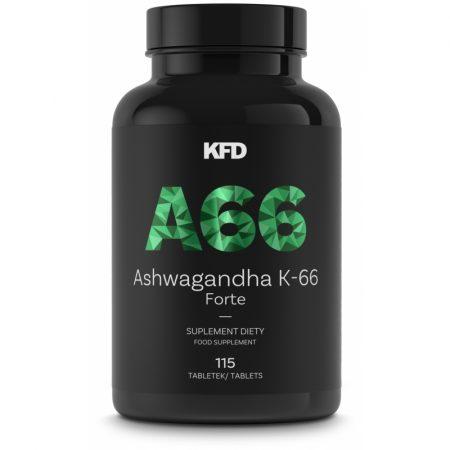 Ashwagandha Forte 66+ – 115 comprimidos – KFD Nutrition