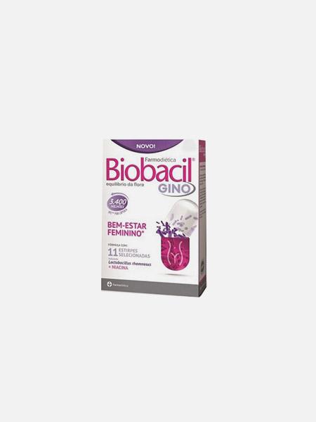 Biobacil Gino - 60 cápsulas - Farmodiética