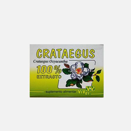 Crataegus oxyacantha 100% extrato – 20 unidoses – Viver