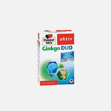 Aktiv Ginkgo Duo – 60 cápsulas – Doppelherz