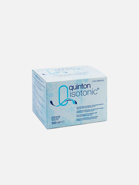 Quinton Isotonic - 30 ampolas - Niral