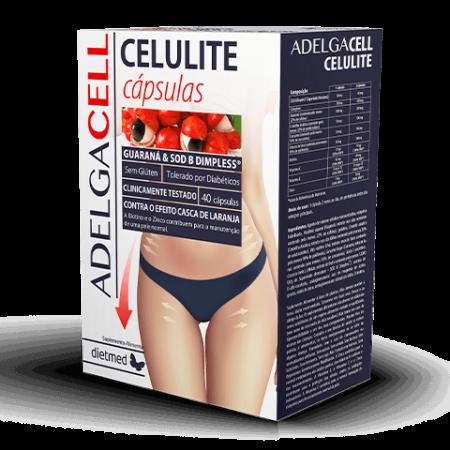 Adelgacell Celulite – 40 cápsulas – DietMed
