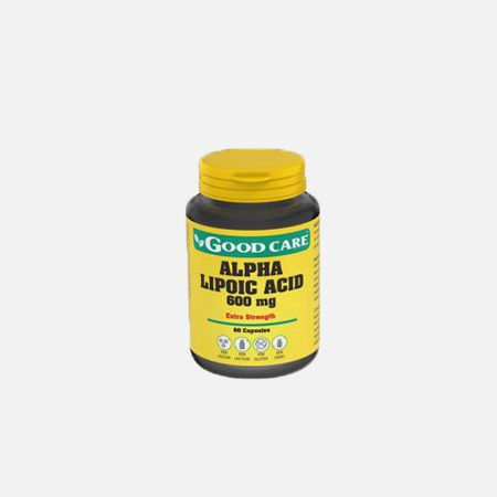 ALPHA LIPOIC ACID 600 mg – 60 cápsulas – Good Care