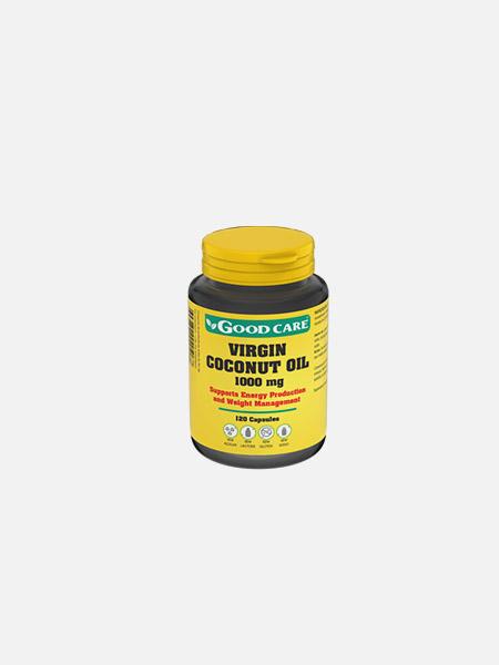 VIRGIN COCONUT OIL 1000 mg - 120 cápsulas - Good Care