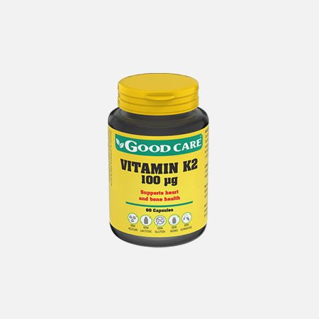 VITAMIN K2 100 ug – 60 cápsulas – Good Care