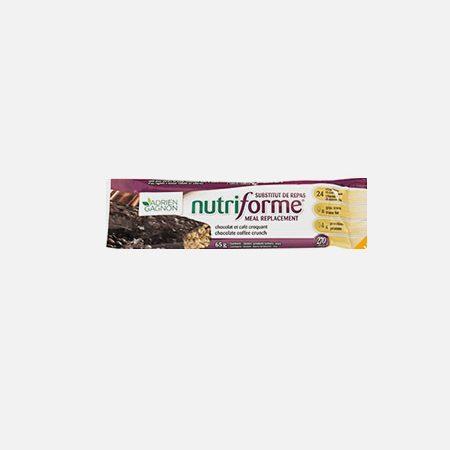 Nutriforme Caramel Crunch – barra 65g – Adrien Gagnon