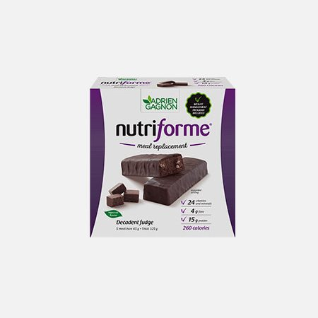 Nutriforme Decadent Fudge – 325g – Adrien Gagnon