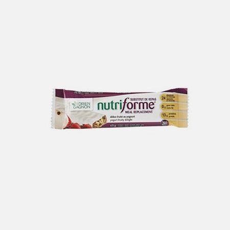 Nutriforme Fruity Delight – barra 65g – Adrien Gagnon