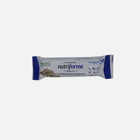 Nutriforme Salted Caramel – barra 65g – Adrien Gagnon