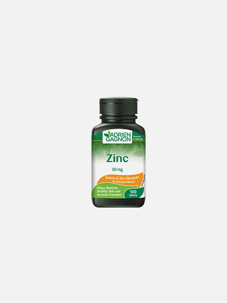 Zinco 50mg - 100 comprimidos - Adrien Gagnon