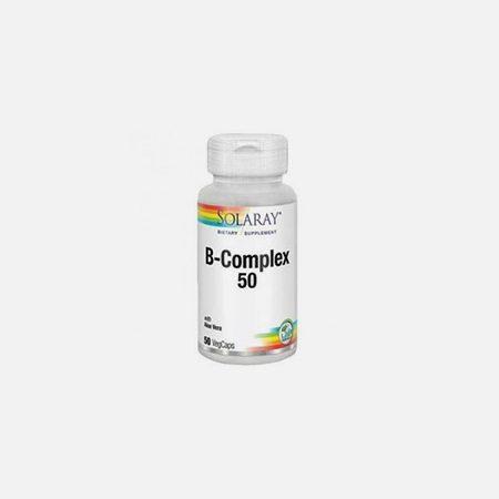 B-Complex 50 – 50 cápsulas – Solaray