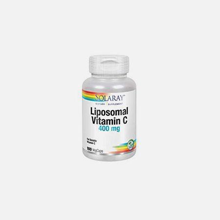 LIPO Vitamina C – 100 cápsulas – Solaray
