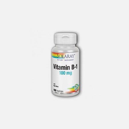 Vitamina B1 – 100 cápsulas – Solaray