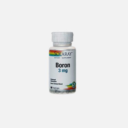Boron Citrate – 60 cápsulas – Solaray