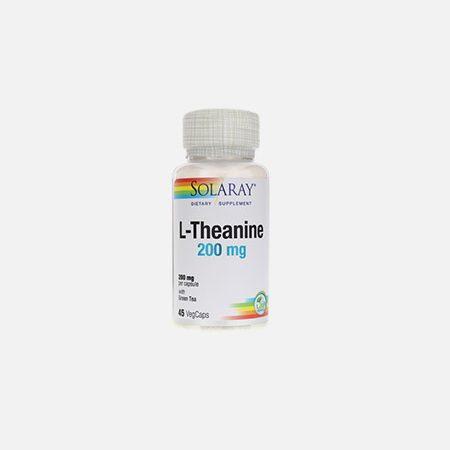 L-Teanina 200 mg – 45 cápsulas – Solaray
