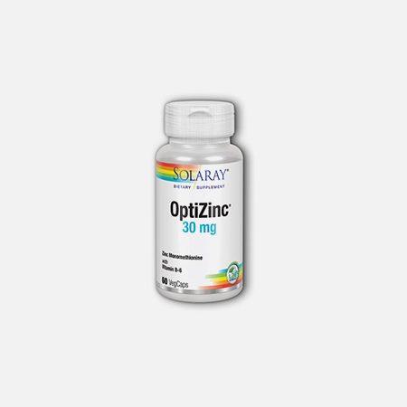 OptiZinc – 60 cápsulas – Solaray