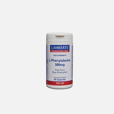 L-Fenilalanina 500mg – 60 cápsulas – Lamberts