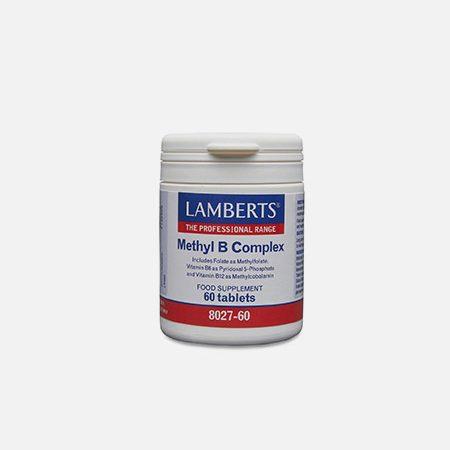 Methyl B Complex – 60 comprimidos – Lamberts