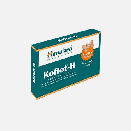 Koflet-H sabor Gengibre – 12 pastilhas – Himalaya