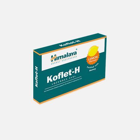 Koflet-H sabor Limão – 12 pastilhas – Himalaya