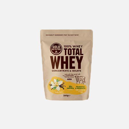 Total Whey sabor Baunilha – 260g – Gold Nutrition