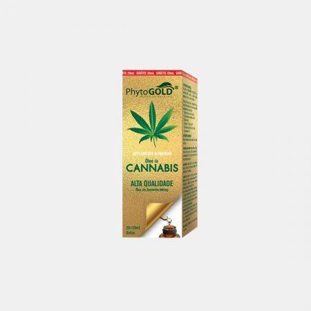 Cannabis Óleo das sementes 900mg – 30+20ml gratis – Phytogold