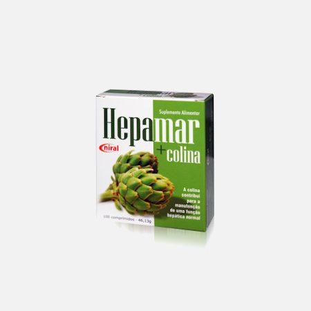 Hepamar + Colina – 100 comprimidos – Niral