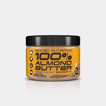 100% Almond Butter Macio – 500g- Scitec Nutrition