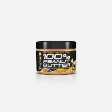 100% Peanut Butter Macio – 500g- Scitec Nutrition