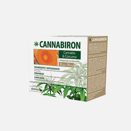 Cannabiron – 30 cápsulas + 30 compimidos – Dietmed