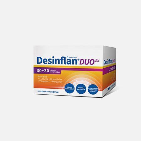 Desinflan Duo RX – 30 comp. + 30 cápsulas – Farmodiética
