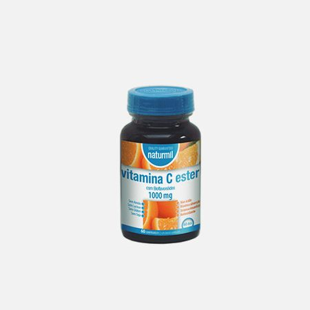 Naturmil Vitamina C Ester com Bioflavonóides 1000mg – 60 comprimidos – Dietmed