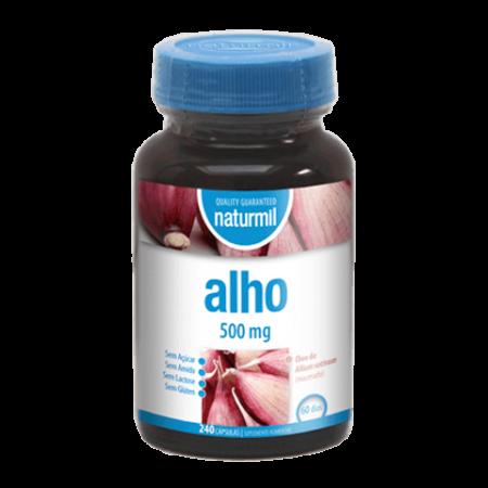 Naturmil Alho 500 mg – 240 cápsulas – DietMed