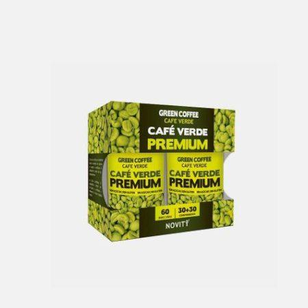 Novity Cafe Verde Premium Pack – 30+30 comprimidos – DietMed