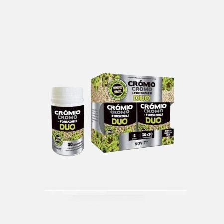 Novity Crómio Cromo + Forskolii – 30+30 comprimidos – DietMed