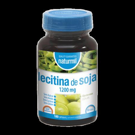 Naturmil Lecitina de Soja 1200mg – 180 cápsulas – DietMed