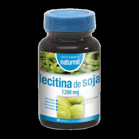 Naturmil Lecitina de Soja 1200mg – 30 cápsulas – DietMed