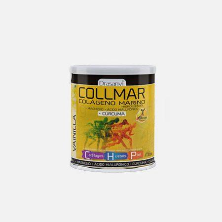 Collmar colagénio marinho + Curcuma Baunilha – 300g – Drasanvi