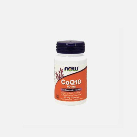 Coenzima CoQ10 – 60 cápsulas – Now