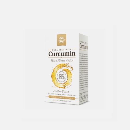 Full Spectrum Curcumina – 30 cápsulas – Solgar
