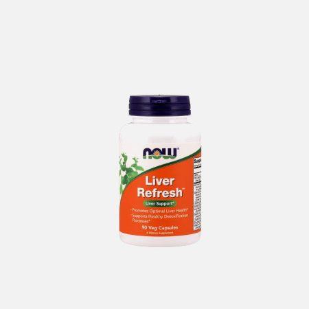 Liver Refresh – 90 veg cápsulas – Now