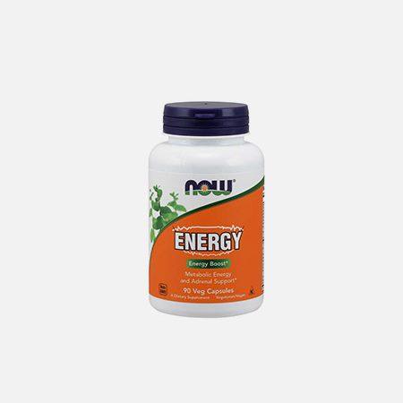 Energy – 90 cápsulas – Now