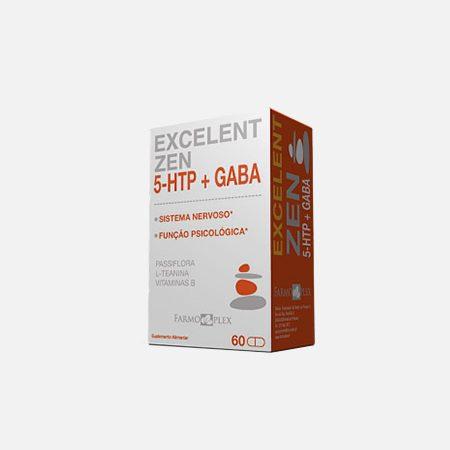Excelent Zen 5-HTP + GABA – 60 cápsulas – Farmoplex