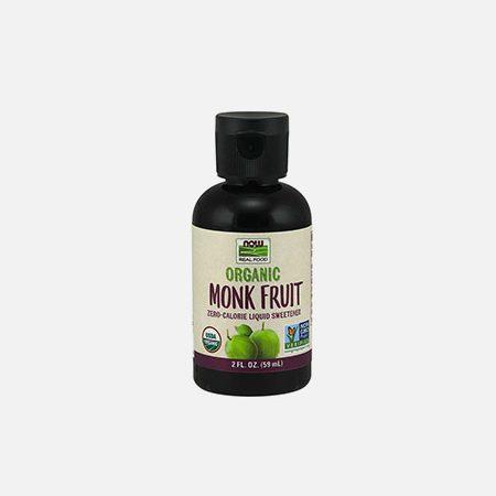 Monk Fruit Liquid, Organic – 59ml – Now
