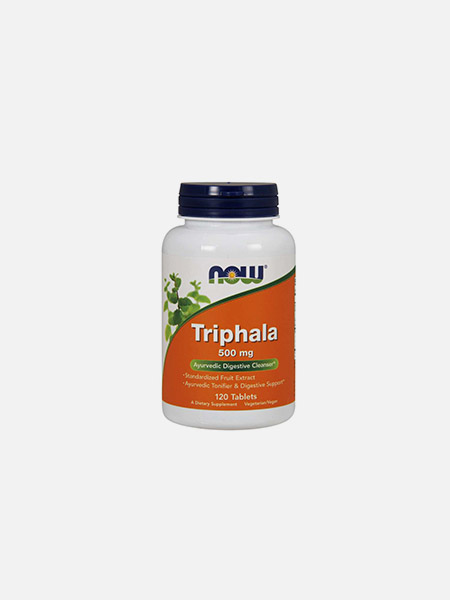 Triphala 500mg - 120 comprimidos - Now
