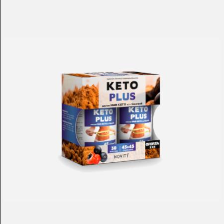Keto Plus – 45+45 comprimidos – Dietmed