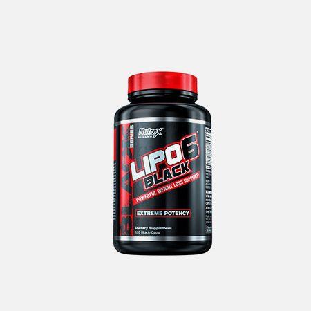 Lipo 6 Black – 120 cápsulas – Nutrex Research